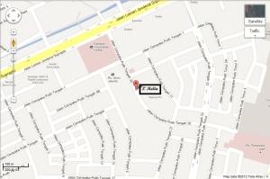 Map Lokasi Klinik L'Melia