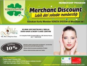 Klinik Kecantikan L'Melia kerjasama dengan Veneta System