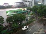 Kondisi lalulintas di depan RS Islam Jakarta