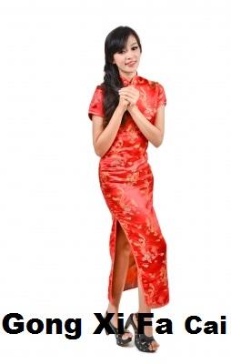Gong Xi Fa Cai buat sahabat cantik L'Melia yang merayakannya. Semoga
